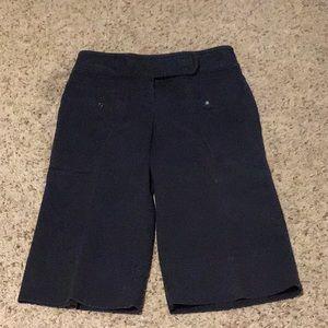 Ann Taylor loft long black shorts